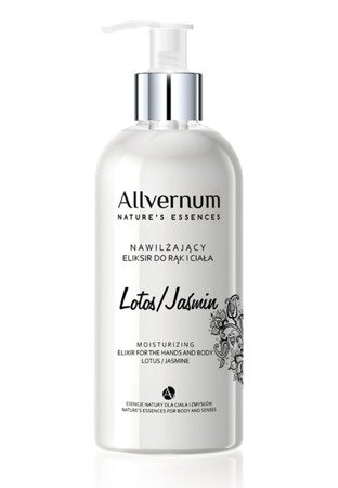 Allverne Nature's Essences Eliksir do rąk i ciała Lotos & Jaśmin  300ml