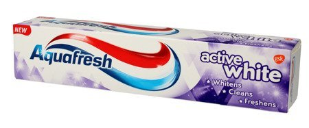 Aquafresh Pasta do zębów Active White 3w1  125ml