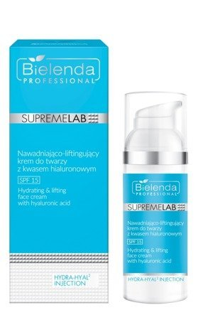 BIELENDA SUPREMELAB HYDRA-HYAL2 INJECTION Hialuronowy krem do twarzy SPF 15 50ml