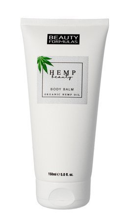 Beauty Formulas Hemp Beauty Balsam do ciała nawilżający 150ml