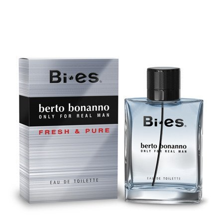 Bi-es Berto Bonanno Fresh&Pure for men Woda toaletowa  100ml