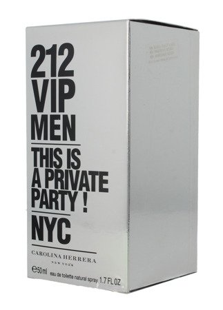 Carolina Herrera 212 VIP Men Woda toaletowa  50ml