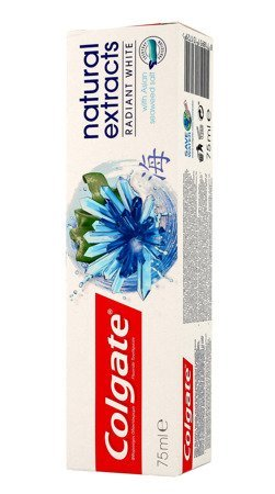 Colgate Pasta do zębów Natural Extracts Radiant White wybielająca  75ml