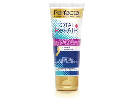 Dax Cosmetics Perfecta Total Repair Krem-maska do stóp przeciw rogowaceniu  100ml
