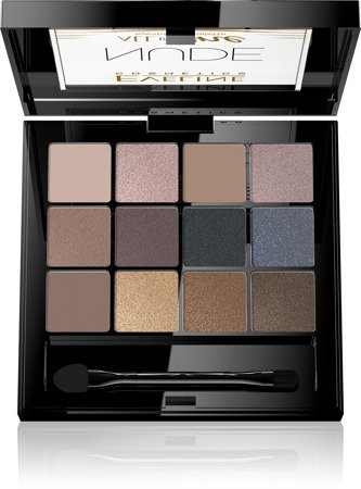Eveline All in One Eyeshadow Palette Cienie do powiek Nude - paletka  12g
