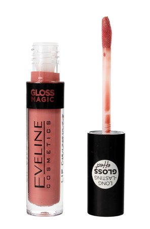 Eveline Gloss Magic Lip Lacquer Lakier do ust nr 11 Satin Nude  4.5ml
