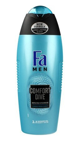 Fa Men Comfort Dive Żel pod prysznic 2w1  400ml