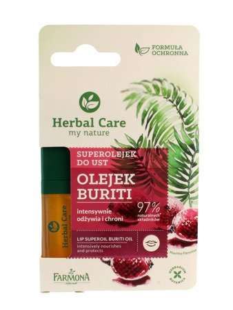 Farmona Herbal Care Superolejek do ust odżywczo-ochronny Buriti  5ml