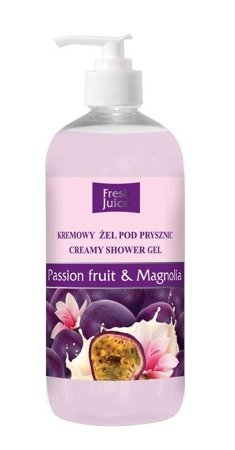Fresh Juice Żel pod prysznic kremowy Passion Fruit i Magnolia 500ml