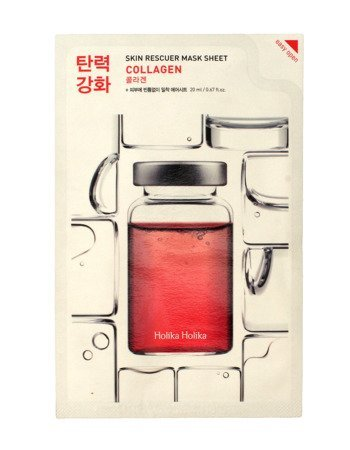Holika Holika Skin Rescuer Mask Sheet Maska w płacie Collagen  1szt