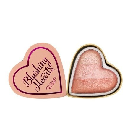 I Heart Makeup Blushing Hearts Róż Peachy Pink Kisses  10g