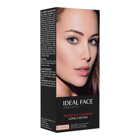 INGRID Fluid IDEAL FACE nr 15 naturalny  35ml