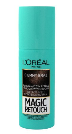 Loreal Magic Retouch Spray do retuszu odrostów nr 2 Ciemny Brąz  75ml