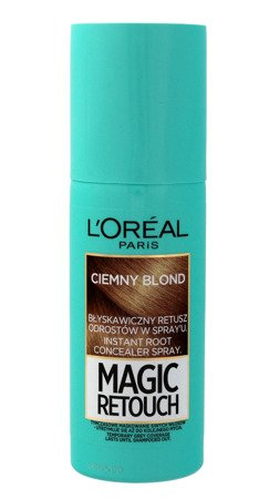 Loreal Magic Retouch Spray do retuszu odrostów nr 4 Ciemny Blond 75ml