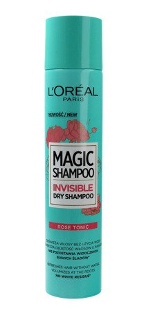 Loreal Magic Shampoo Suchy szampon do włosów Rose Tonic  200ml