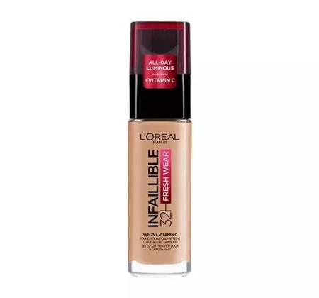 Loreal Podkład Infallible 24H Fresh Wear nr 200 Golden Sand 30ml