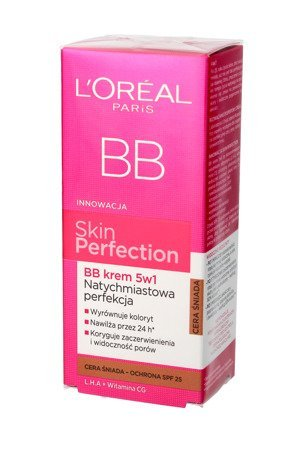 Loreal Skin Perfection Krem BB 5w1 cera śniada  50ml