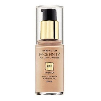 MAX FACTOR FACEFINITY 3w1 33 CRYSTAL BEIGE