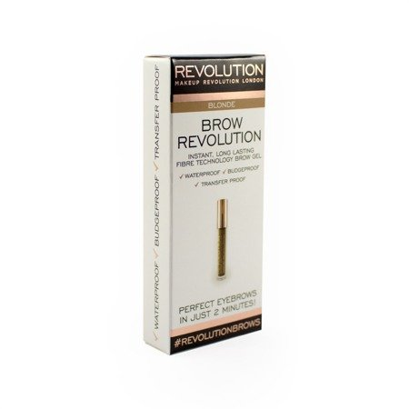 Makeup Revolution Brow Revolution Żel do brwi Blonde  3.8g