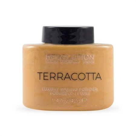 Makeup Revolution Puder sypki Terracotta Baking  42g