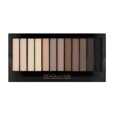 Makeup Revolution Redemption Palette 12 Zestaw cieni do powiek Iconic Elements