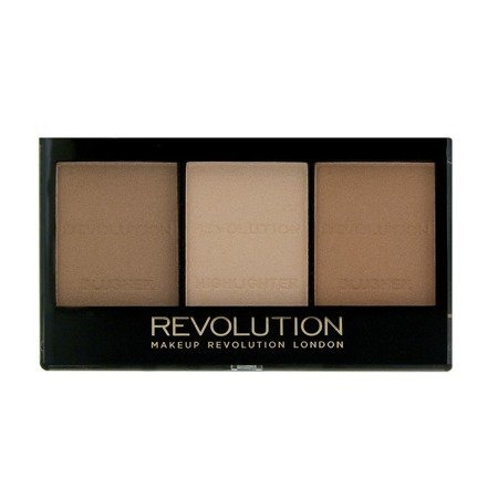 Makeup Revolution Ultra Sculp & Contour Zestaw do korygowania twarzy Kit Light-Medium C04  11g