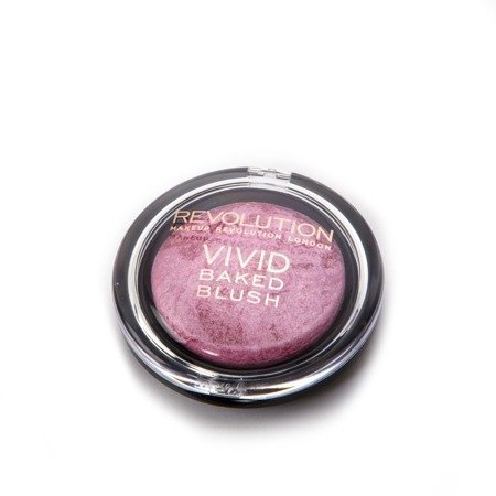 "Makeup Revolution Vivid Baked Blush Róż zapiekany ""Bang You Dead""  6g"