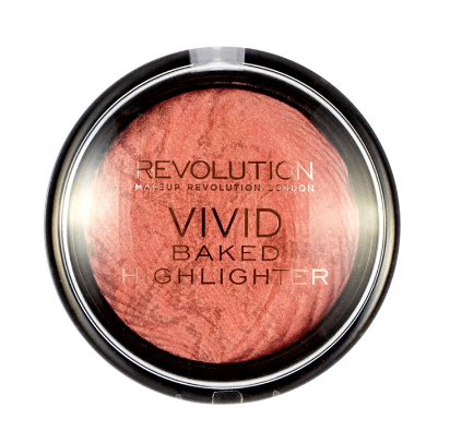 Makeup Revolution Vivid Baked Rozświetlacz do twarzy Rose Gold Lights  7.5 g