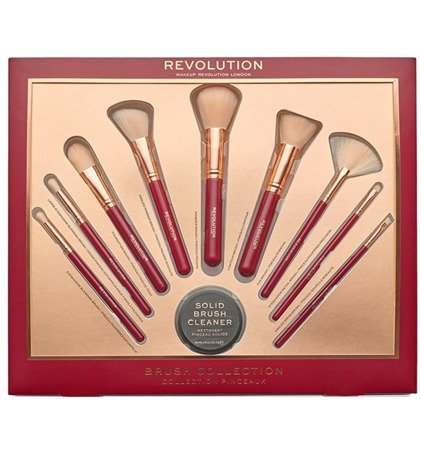Makeup Revolution Zestaw Prezentowy Ultimate Brush Collection