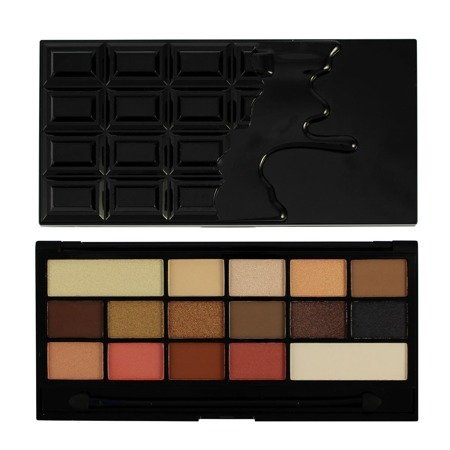 Makeup Revolution paleta cieni do powiek Chocolate Vice