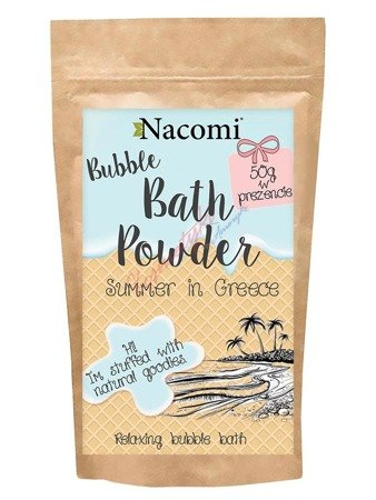 Nacomi Bubble Bath Powder Puder Do Kąpieli Greckie Lato 150g