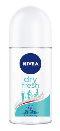 Nivea Dezodorant DRY FRESH roll-on damski  50ml