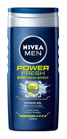 Nivea Men Żel pod prysznic Power Fresh 250ml