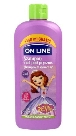On Line Disney Sofia the First Szampon i żel pod prysznic 2w1  400ml