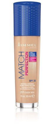 Rimmel Podkład Match Perfection nr 201 classic beige  30ml