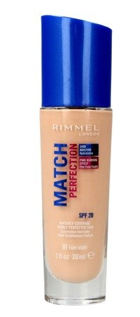 Rimmel Podkład Match Perfection nr 81 fair ivory  30ml