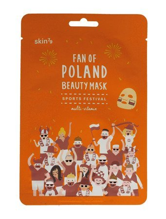 SKIN 79 Fan of Poland Maska w płacie Sports Festival multiwitaminowa  1szt