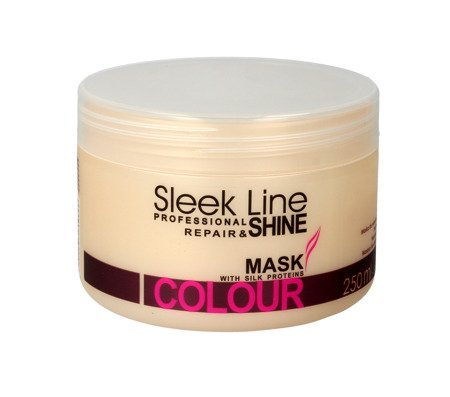 STAPIZ SLEEK LINE COLOUR Maska do włosów 250ml