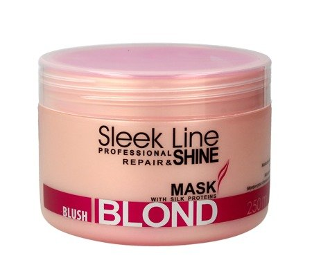 Stapiz Sleek Line Blond Blush Maska do włosów blond 300 ml