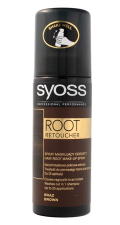 Syoss Root Retoucher Spray maskujący odrosty -  Brąz  120ml