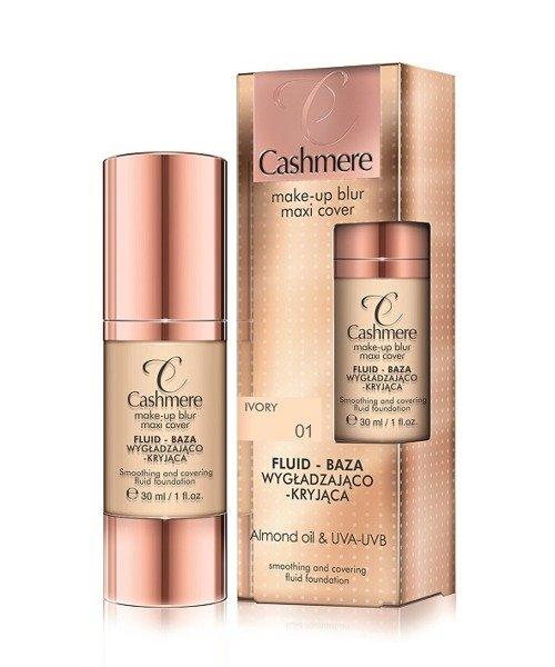 CASHMERE, make-up blur maxi cover, fluid-baza wygładzająco