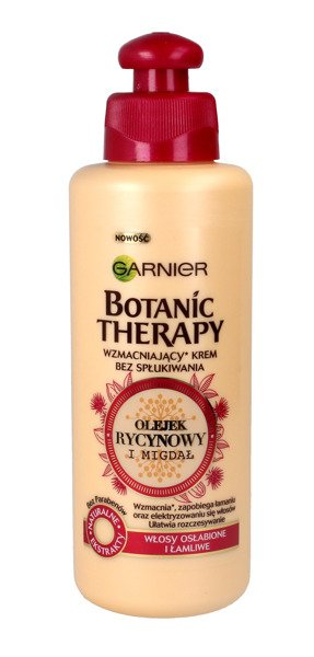 Garnier Botanic Therapy Olejek Rycynowy I Migdał Krem Do Włosów