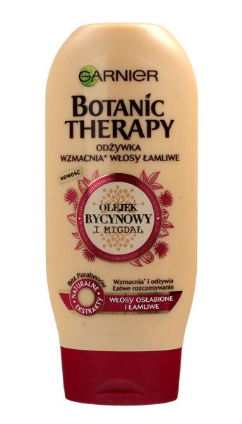 Garnier Botanic Therapy Olejek Rycynowy I Migdał Odżywka Do Włosów