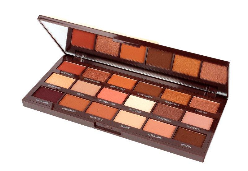 Unikalne Makeup Revolution Paleta Cieni Chocolate Nudes | StrefaUrody.pl YU31