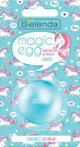 Bielenda Magic Egg Balsam do ust w kulce Kokos  8.5g