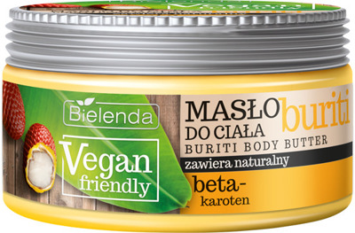 Bielenda Vegan Friendly Masło do ciała Buriti  250ml