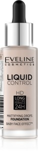 Eveline Liquid Control HD Podkład do twarzy z dropperem nr 005 Ivory  32ml