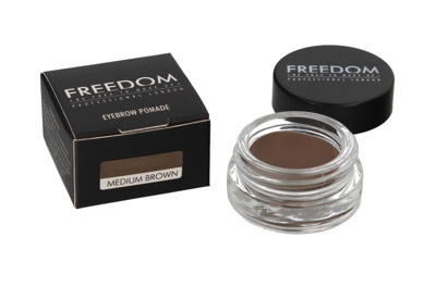 FREEDOM PRO BROW POMADE MEDIUM BROWN - Pomada do brwi