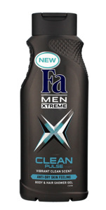Fa Men Xtreme Clean Pulse Żel pod prysznic 400ml