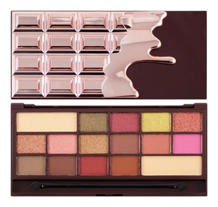 I Heart Makeup Palette Zestaw cieni do powiek Chocolate Rose Gold